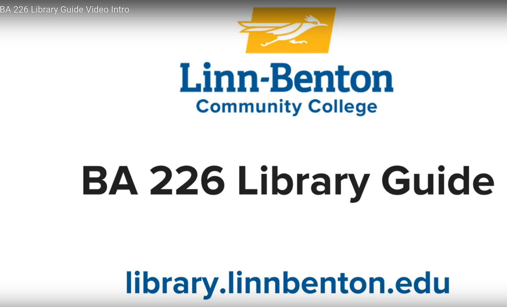 Sharing Links to LBCC Library Ebooks, Videos, and Articles